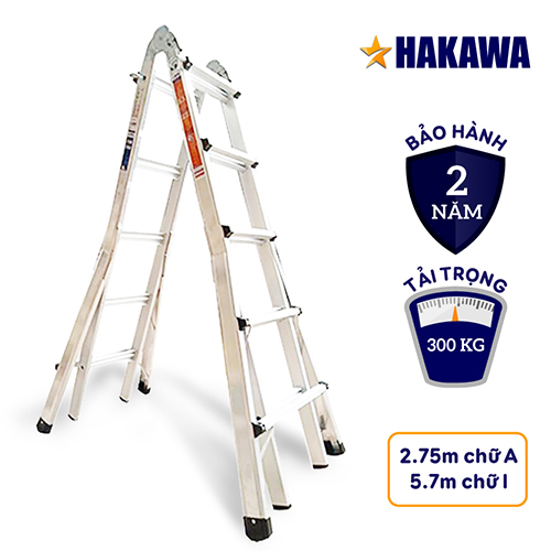 Thang Nhôm Trượt Chữ A Hakawa HK-45