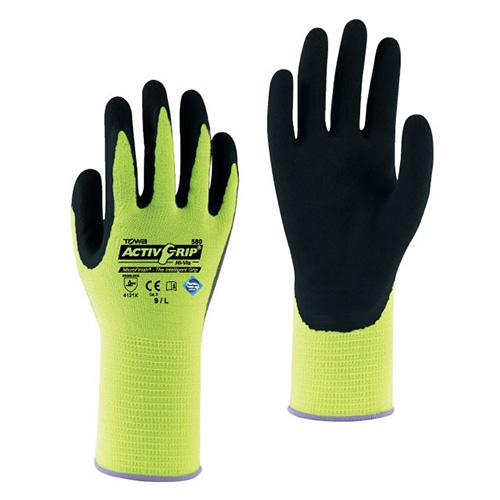 Găng tay đa dụng chống dầu Towa 580 HI-VIS color