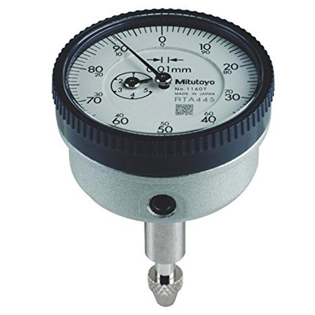 Đồng hồ so cơ hệ mét 0-5mm/0.01mm Mitutoyo 1160T