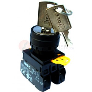 Công tắc xoay có khóa Idec YW1K-2AE10