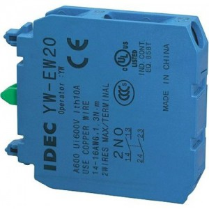 Tiếp điểm phụ Idec YW-EW02