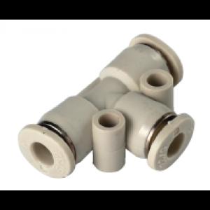 Co nối chữ T, 3 đầu ống SQT08-00-W