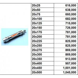 Xylanh khí TPC dòng AXB bore size 20