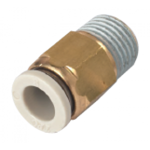 Khớp nối thẳng 1 đầu ống, 1 đầu ren SQH04-01S-W