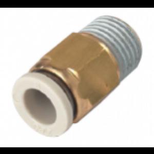 Khớp nối thẳng 1 đầu ống, 1 đầu ren SQH06-M5