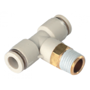 Co nối chữ T, 2 đầu ống, 1 đầu ren SQT08-02S