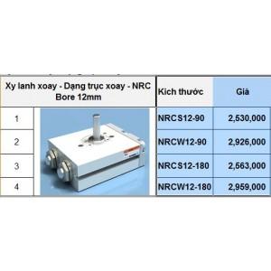 Xy lanh xoay - Dạng trục xoay - NRC Bore 12mm