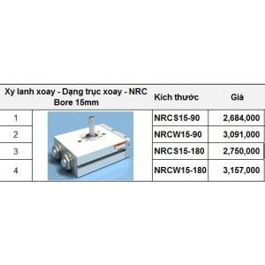 Xy lanh xoay - Dạng trục xoay - NRC Bore 15mm