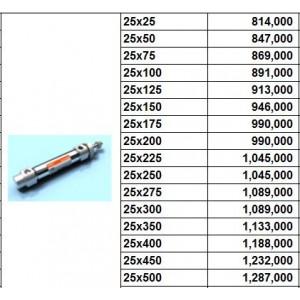 Xylanh khí TPC dòng AXE bore size 25