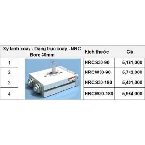 Xy lanh xoay - Dạng trục xoay - NRC Bore 30mm