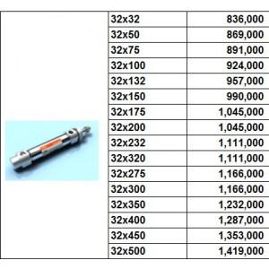 Xylanh khí TPC dòng AXE bore size 32