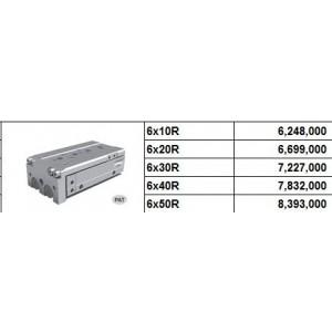 Xy lanh bàn trượt NLCD bore size 6 có 2 cữ điều chỉnh hành trình 2 phía