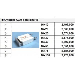 Xy lanh TPC dòng AGM bore size 16