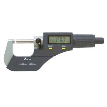 Panme điện tử đo ngoài Shinwa 79523