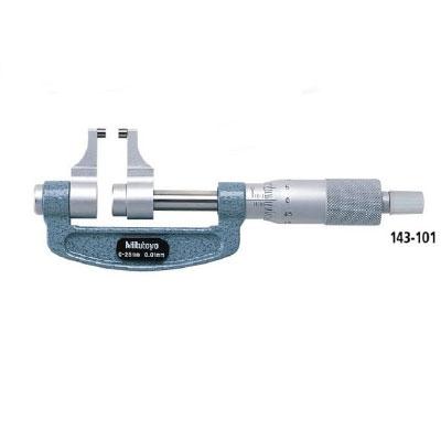 Panme cơ khí đo ngoài mỏ cặp Mitutoyo 143-101