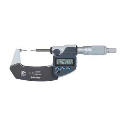 Panme đo ngoài điện tử đầu nhọn Mitutoyo 342-251-30 0-25mm