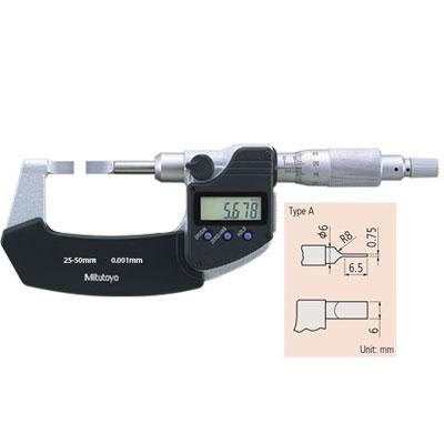 Panme đo rãnh điện tử Mitutoyo 422-231-30 (25-50mm)