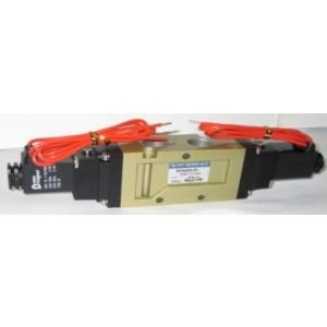 Van điện từ khí nén 5 cửa 3 vị trí, 2 coil