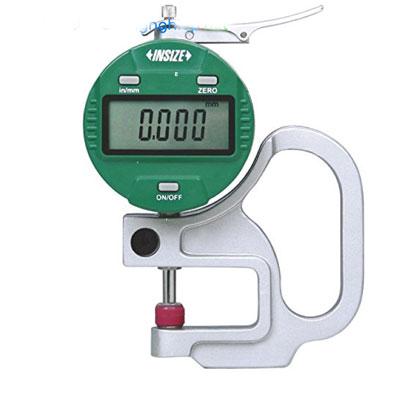 Đồng hồ đo độ dày vật liệu điện tử Insize 2871-101, 0-10mm/0.001