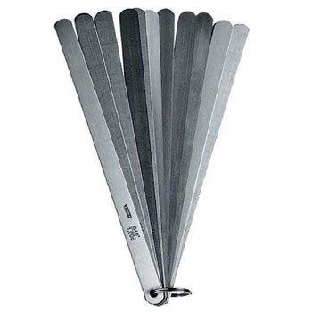 Thước đo khe hở 13 lá 500mm Thép 0.05-1.00mm 436505