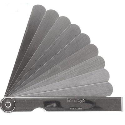 Bộ dưỡng đo bề dày Mitutoyo 184-308S (0.05-0.8mm/10 lá/150mm)