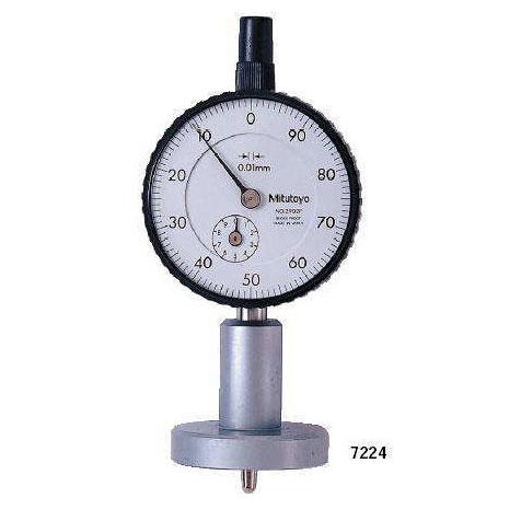 Đồng hồ đo sâu cơ Mitutoyo 7224 (0-10mm/0.01mm)