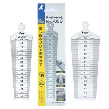 Dưỡng đo lỗ Shinwa 62610