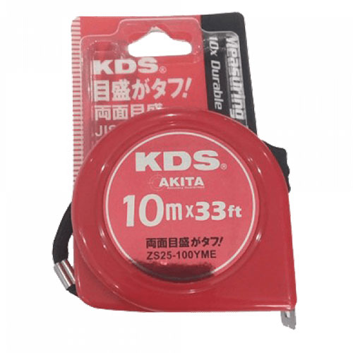 10m Thước cuốn thép KDS ZS-25100 YME