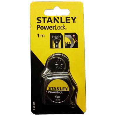 Thước cuốn thép powerlock STANLEY 39-055 1m (new)