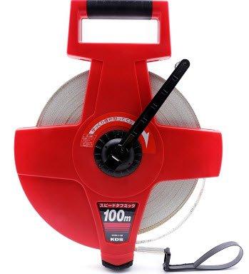 100m Thước dây sợi thủy tinh KDS SGR12-100CF