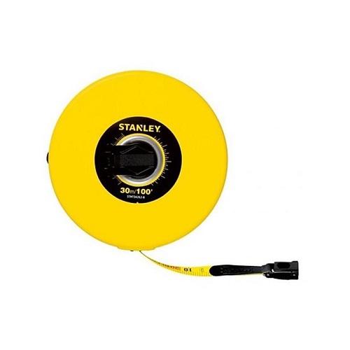 Thước dây Stanley STHT34262-8 sợi thủy tinh - màu vàng 30m (100FT)