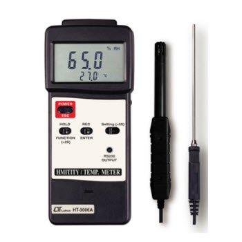 Máy đo độ ẩm không khí Lutron HT-3006A