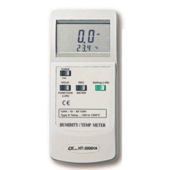 Máy đo độ ẩm không khí Lutron HT-3006HA
