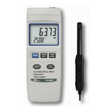 Máy đo độ ẩm không khí Lutron YK-90HT