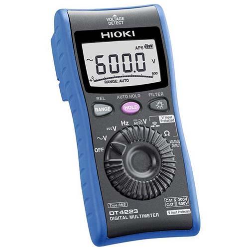 Đồng hồ vạn năng Hioki DT4223 (600V, True RMS)