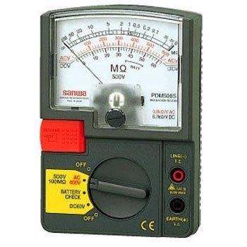 Đồng hồ đo điện trở cách điện Sanwa PDM508S