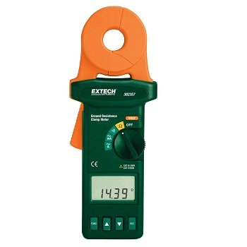Ampe kìm đo không tiếp xúc các dây dẫn mặt đất Extech - 382357