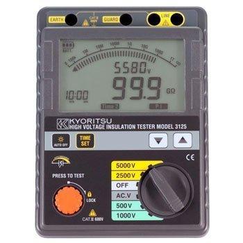 Đồng hồ đo điện trở cách điện Kyoritsu K3125