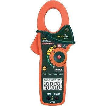 Ampe Kìm Với Nhiệt Kế Hồng Ngoại Và Bluetooth Extech - EX845