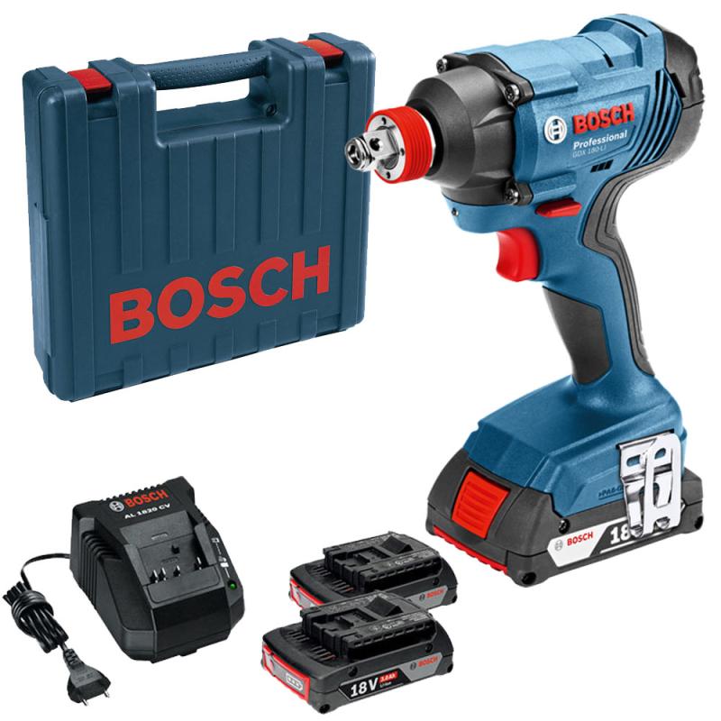 Máy siết bu lông dùng pin Bosch GDX 180-LI