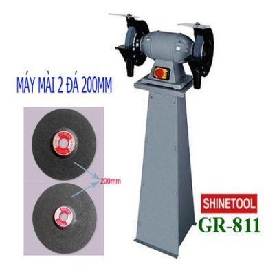 Máy mài hai đá 200mm Shinetool GR-811