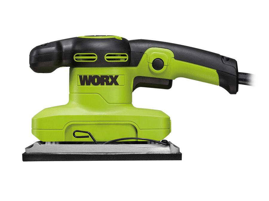 Máy chà nhám rung 320W Worx Green WU649