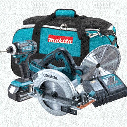 Bộ sản phẩm Makita DLX2239M (DHS710+DTD149) (18V)