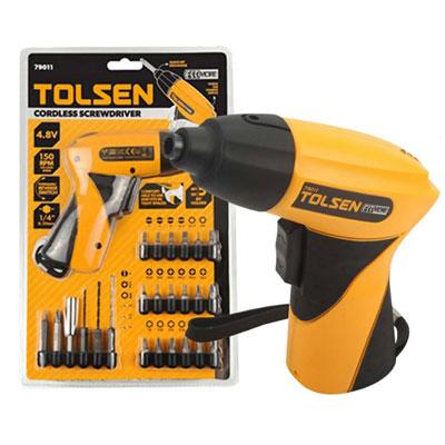 Bộ máy vặn vít không dây Tolsen 79011