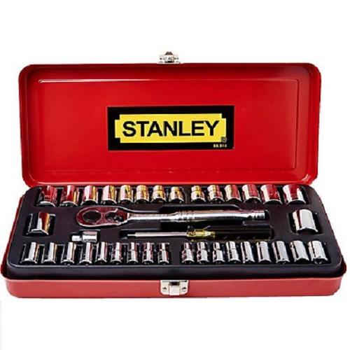 Bộ khẩu 1/4'' & 3/8'' gồm 37 chi tiết Stanley 89-518-1