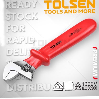 Mỏ lết cách điện 1000V Tolsen V40525 10″