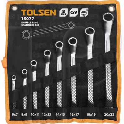 Bộ chìa khóa vòng-vòng Tolsen 15077