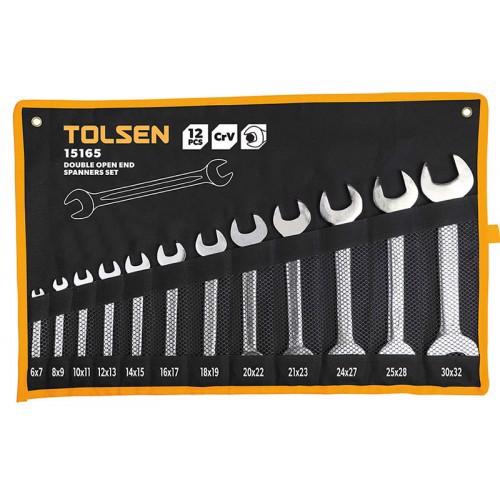 Bộ 12 chìa khóa miệng-miệng Tolsen 15165