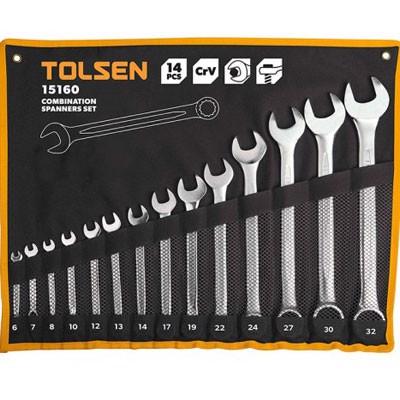 Bộ chìa khóa vòng-miệng Tolsen 15160