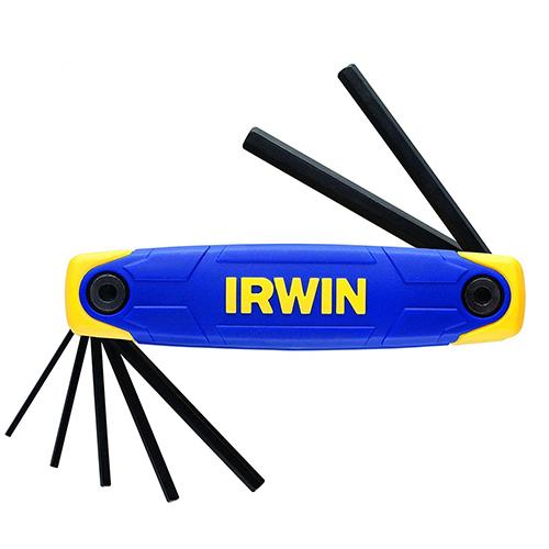 Bộ lục giác đầu bằng xếp IRWIN 9097007 (2-8mm)